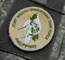 JOINT SPECIAL OPERATIONS TASK FORCE PHILIPPINES JSOTF-P burdock SSI DD PATCH
