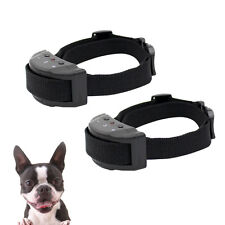 2PCS Pet Dog Shock Collar Automatic Anti Barking No Bark Dog Bark Collars