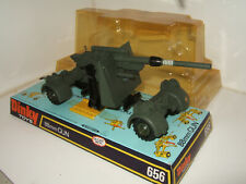 Rare Vintage Dinky Toys 656 German 88MM Gun with original Blister Pack.