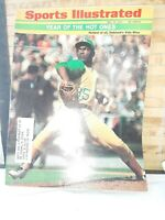 SPORTS ILLUSTRATED MAGAZINE MAY 31,1971 , VIDA BLUE  COVER, A's