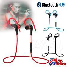 Sans fil Bluetooth Sports casques Casques stéréo baignez écouteurs rouge