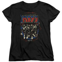 KISS Rock Band DESTROYER Licensed Women's T-Shirt All Sizes