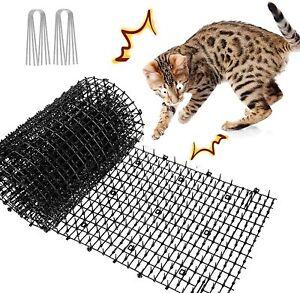 Cat Scat Mat Spike Anti-Cat Dog Pest Deterrent Garden Repellent Animal Scarer