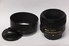 Nikon AF-S Nikkor 1,8/50 mm G objetivamente usado en OVP