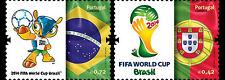 FIFA WORLD CUP FOOTBALL PORTUGAL RONALDO 2014 SET+SHEET MNH