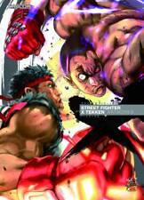 Street Fighter X Tekken Artworks Art Book Udon Capcom Ryu Chun-Li New Mint