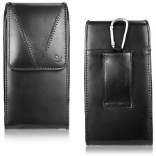 Vertical Leather Case Pouch Cover Holster Belt Loop For iPhone 11 Pro Xs Max 8+