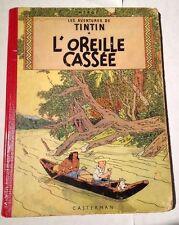"""Les Aventures De Tintin """" L'oreille Cassee """" Casterman"""