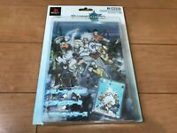 Playstation 2 PS2 Tales of Legendia Limited MemoryCard & Seal & Case HORI