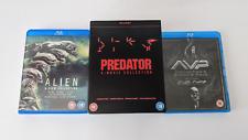 Alien 6 Film Collection + Predator 4 Films + Alien vs. Predator 1&2 Blu-ray Lot