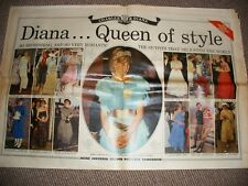 DAILY MAIL July 1983 Colour Royal Anniversary Souvenir Princess Diana