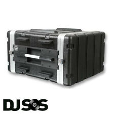 ABS 6u Rack Case | Flight Case - Rack Mount Flight Case | Equipment Case | DJ