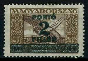 Hungary 1927 SG#D492, 2f On 1000k Postage Due MH #E81666