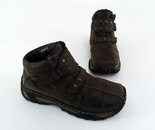 Stiefeletten Colette Boots flach Winter Halbschuhe Kunstleder braun Gr. 37