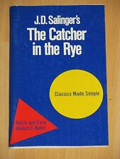 J.D. Salinger - The Catcher in the Rye - Classics Made Simple - Monarch Notes