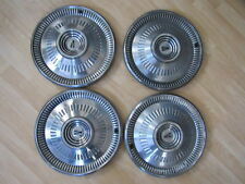 HUBCAP VINTAGE RARE 1964 FORD FALCON FAIRLANE 14 INCHES LOT OF 4 A11710