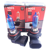 2x HB3 Xenon LOOK Halogen Lampe 6000K Super White 12V 65W US 9005