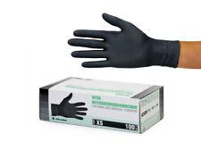 Einweghandschuhe Einmalhandschuhe Nitrilhandschuhe 100 Stück Box Gr XS schwarz