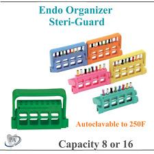 Dental 16 Hole Bur Block Sterilization Endo Guard For H Files Amp Reamers 275f