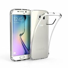 Ultraslim Silikon Hülle transparent Soft Case Cover für Samsung Galaxy S6 Edge