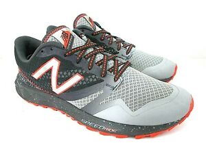 New Balance Speed Ride 690 AT Men's 8 M Gray Mesh Athletic Trail Running Shoes