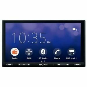 "Sony XAV-AX5500 6.95"" Touch screen Apple CarPlay/ Android Auto AV Receiver NO CD"