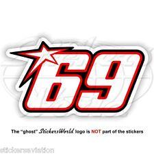 NICKY HAYDEN 69 type-A 150mm MotoGP Sticker Decal Aufkleber Adesivo Autocollant