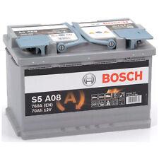 Batteria Auto Bosch 0092s60080 AGM Start & Stop 70ah spunto 760a