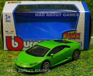 LAMBORGHINI HURACAN Green 1:43 Toy Car NEW Model Diecast Models Die Cast