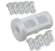 10 x Spray Gun Paint Filters Lobster Pot Suction Strainers Cotton Reel uk