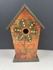 New listing Decorative Fall Birdhouse for Porch, sun Room or wherever (intended For Indoor)