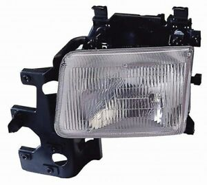 Headlight Assembly Front Right Maxzone 333-1136R-AS