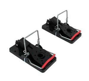 Mouse Trap Twin Pack Time'S Up (Two Traps) Plastic Pest Control Rodent Mice