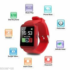 Bluetooth Smart Wrist Watch For Android Samsung Galaxy S6 Plus S5 Note 5 Edge 4