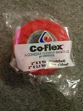 "Co-Flex Coflex Bandage Pet Dog Horse Tape Wrap 2""x5 Yards RED"