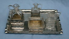 German Antique Sterling 800 Silver Continental  Cruet Set          MAGNIFICENT