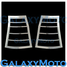03-08 CHRYSLER PACIFICA Triple Chrome Taillight Tail Light Trim Bezel lamp Cover