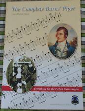 La completa BRUCIA PIPER MUSIC BOOK Highland Cornamusa TUNES condotte Notte Cena
