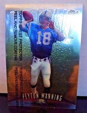 1998 Finest #121 Peyton Manning Rookie Card Team: Indianapolis Colts