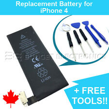 NEW iPhone 4 Replacement Battery 1420mAh APN 616-0513 with FREE Repair Tools