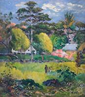 Landscape Paul Gauguin Home Decor Print on Canvas Giclee Reproduction Small 8x10