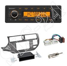 TR7412UB-OR Radio + Kia Rio (UB) 2011-2015 2-DIN Blende anthrazit + ISO-Adapter