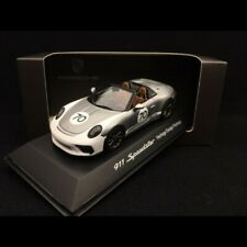 Porsche 911 Speedster 991 Heritage Design package n° 70 gris métal 2019 1/43 gri