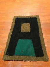 WWI  US Army First Army Military Police MP patch wool