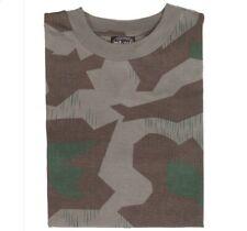 Wehrmacht T-Shirt Splinter Tarn Landser Soldat Camouflage Shirt Heer Größe: S