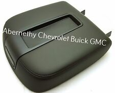 19328715 Black Floor Console Lid 2007-2009 Full Size GM SUV and Truck. See List