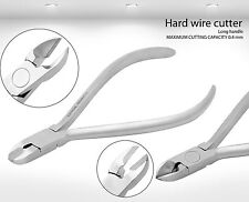 Long Handle TC Hard Wire Cutter Dental Orthodontic Pliers Instruments
