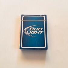 Budweiser Bud Light Beer Playing Cards Card Deck New In Box