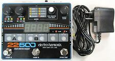 Used Electro-Harmonix EHX 22500 Dual Stereo Looper Guitar Effects Pedal!