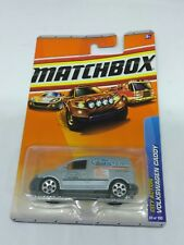 2010 MATCHBOX BLUE VOLKSWAGEN CADDY CITY ACTION SERIES IN 1/64 SCALE DIE CAST